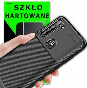 Etui marki OXYGEN GT+ szkło do Motorola G8 POWER