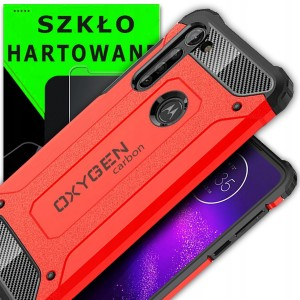 PANCERNE etui do Motorola G8 POWER OXYGEN CR+Szkło