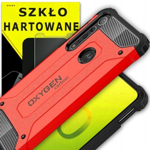 etui PANCERNE do Motorola G8 PLUS OXYGEN CR +Szkło