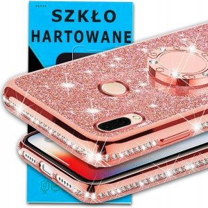 Diamentowe etui do Redmi NOTE 7 marki OXYGEN BlinG