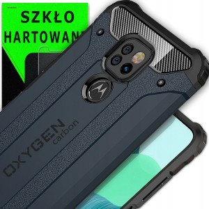 Etui marki OXYGEN CR do Motorola G9 Play + szkło