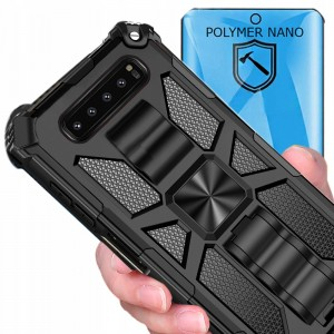 Etui OXYGEN GTX do Samsung Galaxy S10 PLUS + folia POLIMER
